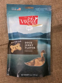 Treats for Dogs, Jerky Meat Grain-Free Biscuits Cage-Free Duck, 6 oz. (real jerky inside) - USA MADE