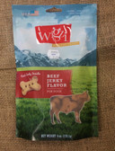 Treats for Dogs, Jerky Meat Grain-Free Biscuits Beef, 6 oz. (real jerky inside) - USA MADE