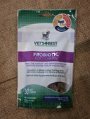 Dog Health Supplement, Vet's + Best Veterinarian Recommended Probiotic Soft Chews, 4.2 oz (30 day supply) Made in the USA