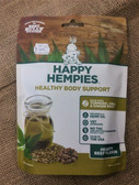 Dog Health Supplement, From the makers of Best Bully Sticks, Happy Hempies Healthy Body Support Hearty Beef Flavor, 4.75 oz. Made in the USA