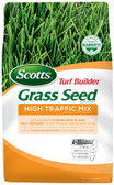 Lawn Seed, Scotts Turf Builder Grass Seed High Traffic Mix, 3 lb. (seeds up to 1,500 sq ft)