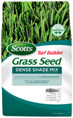 Lawn Seed, Scotts Turf Builder Grass Seed Dense Shade Mix, 3 lb. (seeds up to 750 sq. ft.)