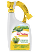 Lawn Food & Weed Control, Scotts Liguid Turf Builder with PLUS 2 Weed Control, 32 fl. oz. covers up to 6,000 sq. ft.