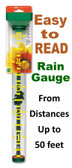 Rain Gauge, Original EZ READ Rain Gauge (Green)