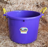 Little Giant Professional Farm Grade Muck Tub/Bucket (70 qt. /Purple)