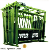 Powder River H2000 Hydraulic Chute, L.A. Hearne Company, Official Powder River Dealer