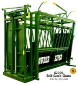 Powder River S2000 Self-Catch Cattle Chute, L.A. Hearne Company, Official Powder River Dealer