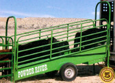 Powder River Classic 14 ft. Portable Loading Ramp, L.A. Hearne Company, Official Powder River Dealer