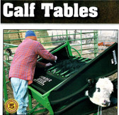 Powder River Classic Delux Calf Table, L.A. Hearne Company, Official Powder River Dealer