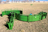 Powder River System Delux for Processing/Working Cattle, L.A. Hearne Company, Official Powder River Dealer