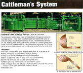 Powder River Cattleman's Tub and Alley Package, L.A. Hearne Company, Official Powder River Dealer