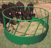 Powder River Slant Round Bale Feeder, L.A. Hearne Company, Official Powder River Dealer