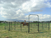 Powder Mountain and Powder Creek Round Pens, L.A. Hearne Company, Official Powder River Dealer