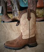 Durango Ladies Brown with Tan Upper Boots (available in-store only)