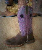 Durango Women's Rough-out Boot Lavender Upper (available in store only)