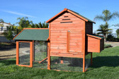 Coop, RAISED WOODEN CHICKEN COOP by Rugged Ranch (Special Order Only)