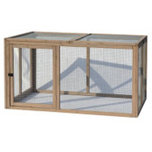 Coop, Precision Pet Extreme Hen House Extension Pen 55 in X 38 in X 30 in Natural Wood (Special Order Only)