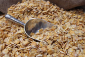 GRAIN, King S/R FEED Corn (Steam Rolled Corn) 50 lb. quality ingredients grown & packaged in the USA