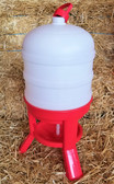 Waterer, Professional Farm Grade Little Giant Extra Large Plastic Dome Poultry Waterer, 10 Gal