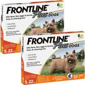 Pest Control, Frontline Plus for Dogs, 5 to 22 lbs. Kills Fleas, Ticks, & Lice