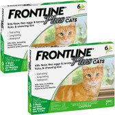 Pest Control, Frontline Plus for Cats, All Sizes, Kills Fleas, Ticks, Lice