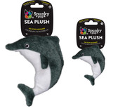 Toy, Spunky Pup Sea Plush Dolphin No Stop Squeaker Toy, This one is the size for small dogs... 6 inches long