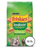 Cat Food, Purina Friskies Indoor Delights Adult Cat Food, 16 lb.