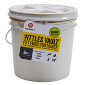 Storage, Vittles Vault for Pet Food/Animal Feed/People Food, airtight engineering, controlled moisture balance, pest proof, holds up to 10 lb.
