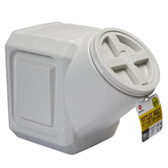Storage, Vittles Vault for Pet Food/Animal Feed/People Food, airtight engineering, controlled moisture balance, pest proof, holds up to 40 lb.