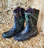 Boy's and Girl's Boots, DBL Barrel Camo Rubber Boots, youth sizes (available in store only)