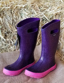 Girl's Boots, BOGS Glitter Rainboots kids, size 3, style 71451 (available in store only)