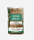 Garden Bark/Mulch, Cedar Mulch (Forrest Bark) 2 cu. ft.