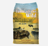 Dog Food, Taste of the Wild High Prairie, Grain Free Recipe, 28 lb.