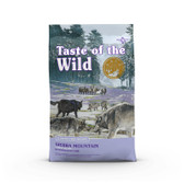 Dog Food, Taste of the Wild Sierra Mountain Canine Recipe w Roasted Lamb 28 lb.
