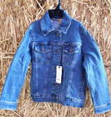 Boy's or Girl's Outerwear, Wrangler Jean Jacket, shown in size M (in store only)