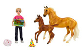 Children's Toys, Breyer Birthday at the Barn Set