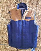 Men's Outerwear, Cinch Vest durable water resistant fabric (in store only)