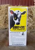 Topical Med, Shut-Eye for Pinkeye, Medication and Patch, 10 Regular Shut Eye Patches, Cement Included (for Adult Cattle)
