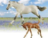 "Children's Toys, Breyer Horses ""Racing the Wind"""