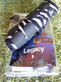 Legacy Protective Pair Hind Boots, Zebra Print CL520009ZM