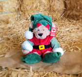 GANZ Fuzzy Elf Bear for Ages 3 and up