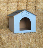 Dog House,  Size #4, Locally Made Wood Dog House (available for in-store pickup only)