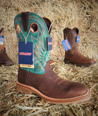 Men's Durango X-Pand System, Green Upper Stitched Design BOOTS, (available in store only)