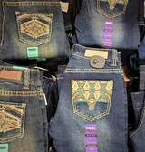 Pants, Rock&Roll Women's QUALITY Denim Jeans, Mid Rise, Boot Cut, Vintage (available in store only)