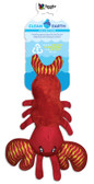 Spunky Pet TOY, Clean Earth Squeaking Floating Lobster (small)