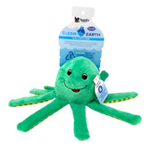 Spunky Pet TOY, Clean Earth Squeaking Floating Octopus (small)