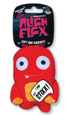 Spunky Pup Alien Flex Soft and Squeaky Toy for Dogs (small)