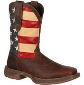 REBEL™ BY DURANGO® Men's PATRIOTIC PULL-ON WESTERN FLAG BOOT