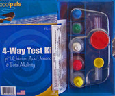 Pool Pals, 4-Way Test Kit