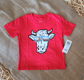CINCH Red Steer Tee Shirt (infant size 12 to 18 Month)  available in store only